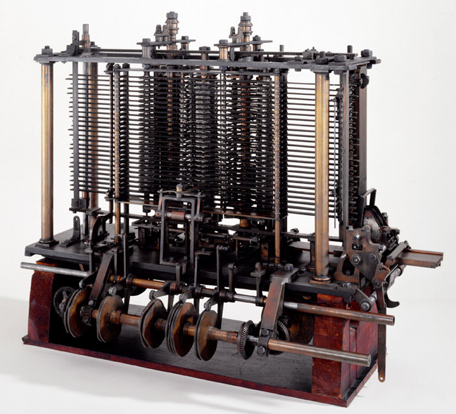 A trial model of the Analytical Engine. Pic: Science Musuem