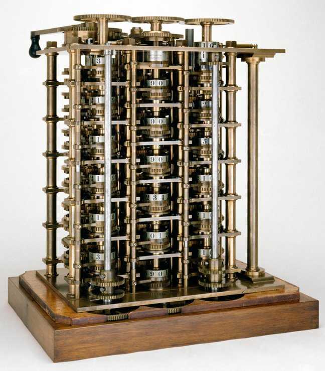 A portion of the Difference Engine. Pic: Science Museum