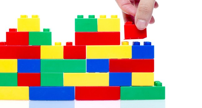 Lego, photo via Shutterstock