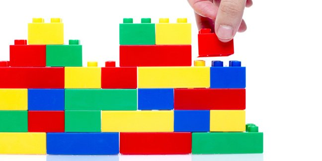 Lego, photo via Shutterstock