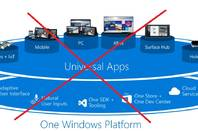 Microsoft's Universal apps are Windows 10 only