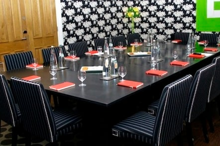 The Register Roundtable Room at The Soho Hotel