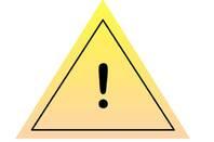 Fake yellow triangle
