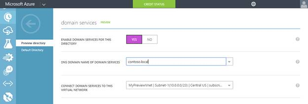 Configuring Azure AD Domain Services