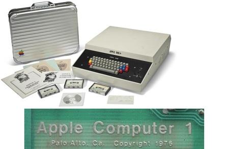 apple 1. an apple 1
