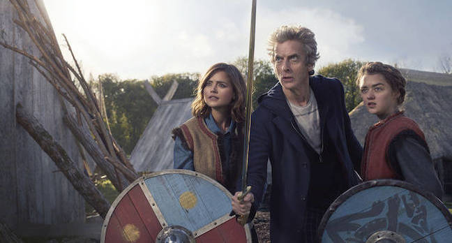 Doctor Who – The Girl Who Died. Pic credit: BBC