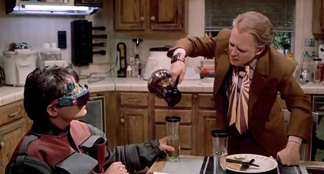 Still from Back to the Future II. Pic: Universal