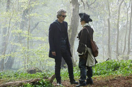Doctor Who – The Woman Who Lived. Pic credit: BBC