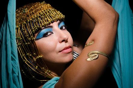 experts ponder improbable size of cleopatra s asp the register