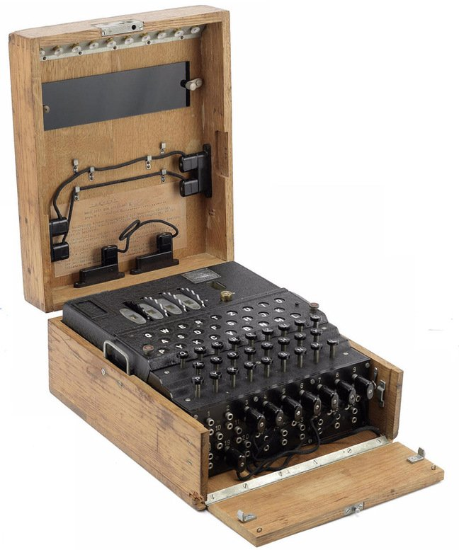The M4 Enigma which sold at auction yesterday. Pic: Bonhams