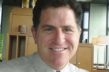 Michael Dell. Pic by Joi Ito