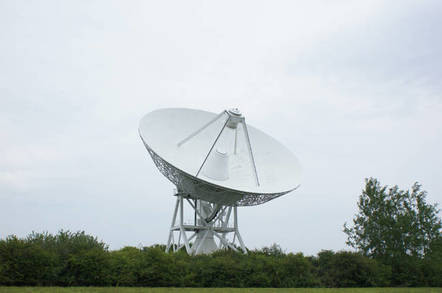 This was built as an adjuct to Jodrell Bank