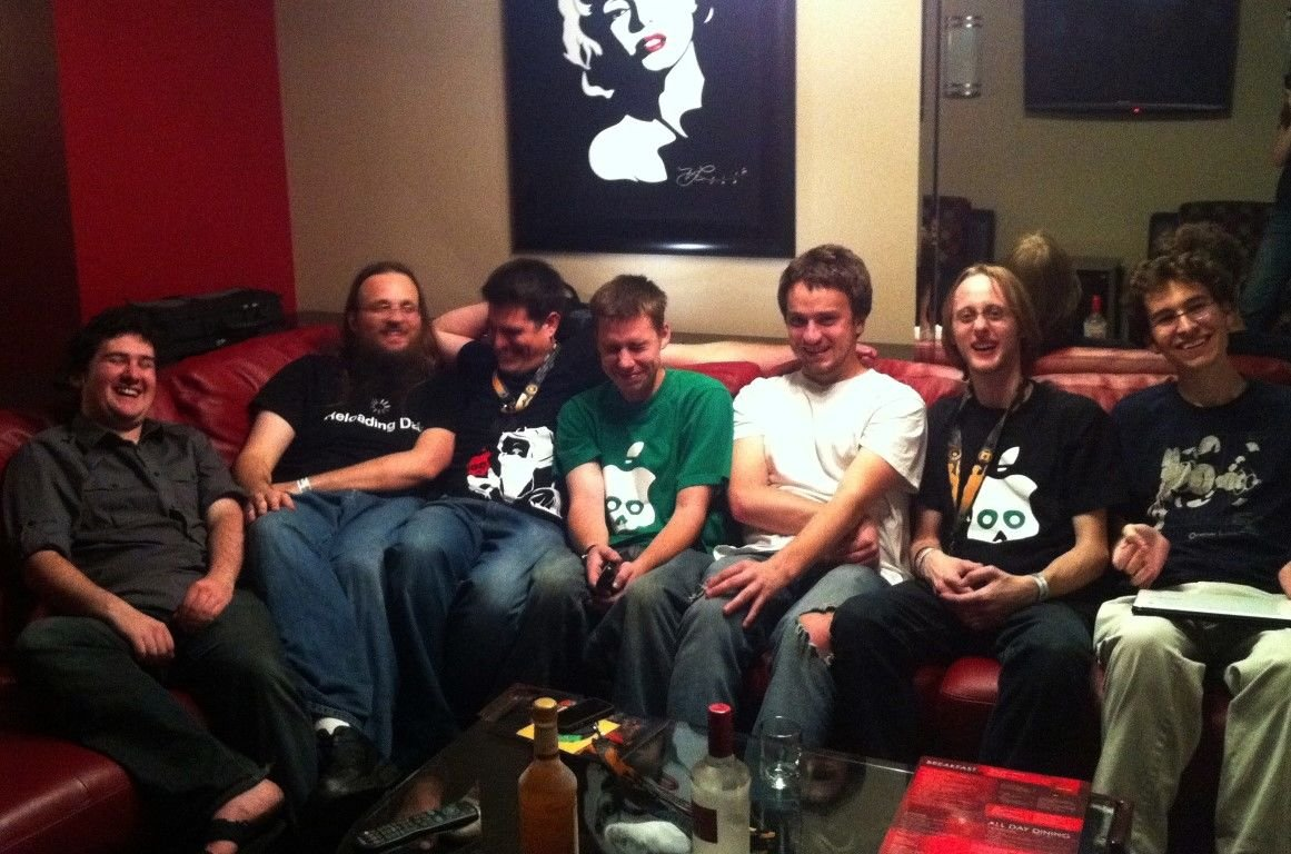 Some of the prominent jailbreaking players at DEF CON, by Dreamyshade, 2011