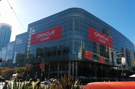 Oracle OpenWorld cloud
