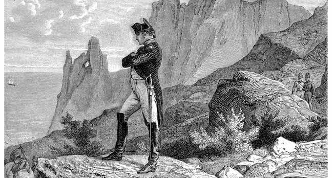 Napoleon image via Shutterstock