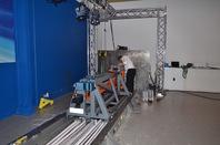 Impact sledge for crash simulation at the TRL