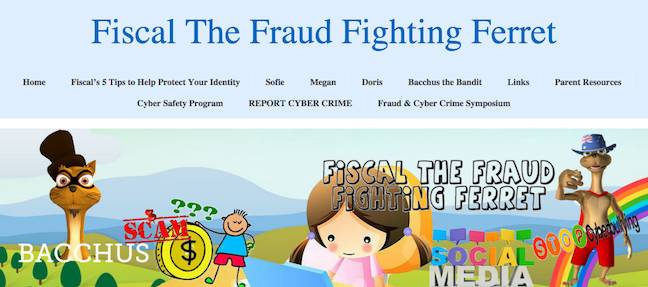 Fiscal the Fraud Fighting Ferrett Website