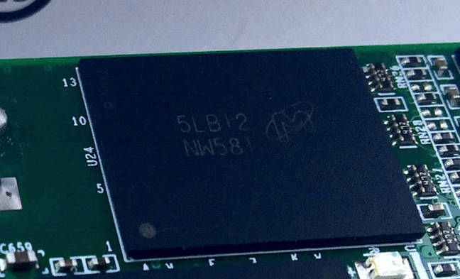 Micron NAND chip
