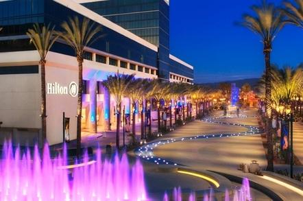 Hilton hotel Anaheim