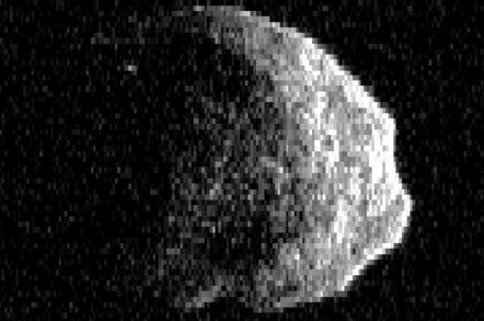 US radar paparazzi snap 'Halloween Asteroid' • The Register