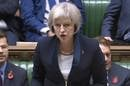 Home Secretary Theresa May introduces draft Investigatory Powers Bill to MPs. Pic credit: Parliament TV
