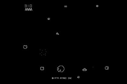 Asteroids screen shot