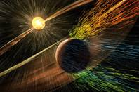 Mars and the solar winds