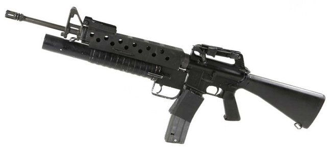 The Scarface M-16. Pic: Julien's Auctions
