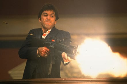 Scarfaces Explosive Little Friend Goes Under The Hammer The