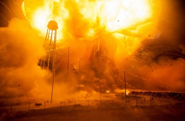 Antares fireball