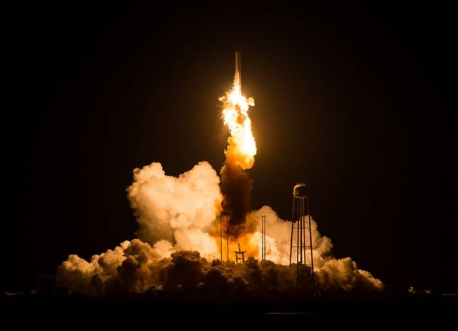 Antares rocket failure