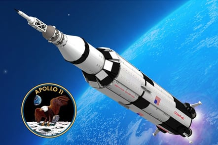Space Fans Eye Launch Of Lego Saturn V The Register