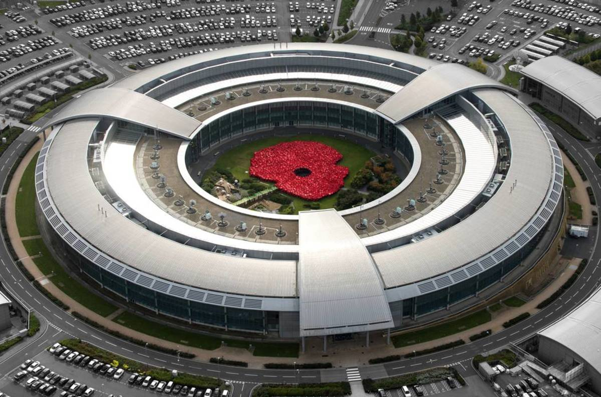 Gchq_benhall_remeberance_day