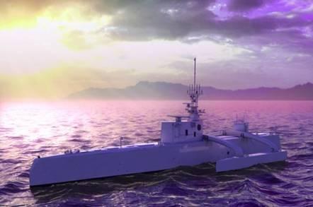 DARPA remote drone submarine hunter