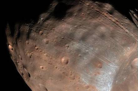 Cracks on Phoebus - NASA Goddard
