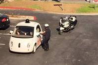 Police pull over Google car