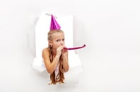Party blower image via Shutterstock