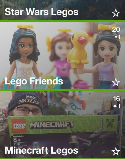 Watson Trend loves Legos