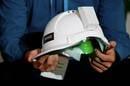 Internet construction helmet