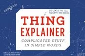 thing explainer - cover of randall munroe's book