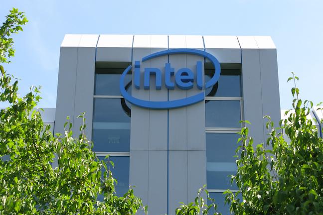 Intel-Hauptgebäude in Feldkirchen by https://