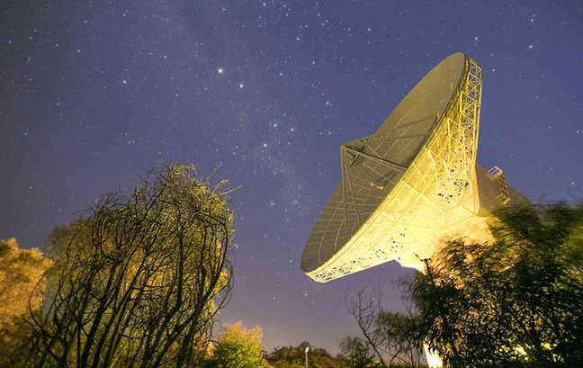 The 35m dish at New Norcia