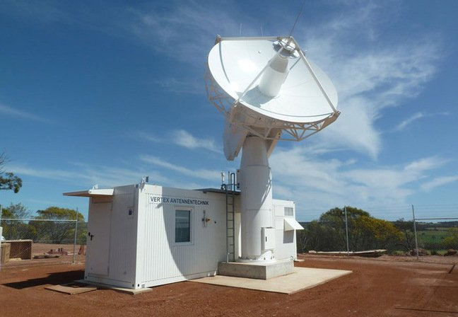 The 4.5m dish at New Norcia