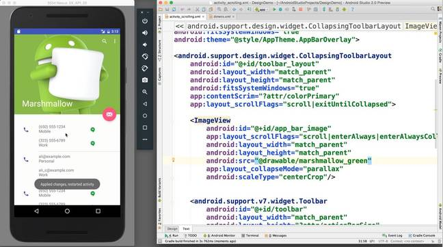Instant Run in Android Studio 2.0 Preview