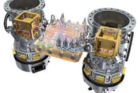 The LISA Pathfinder LTP core assembly