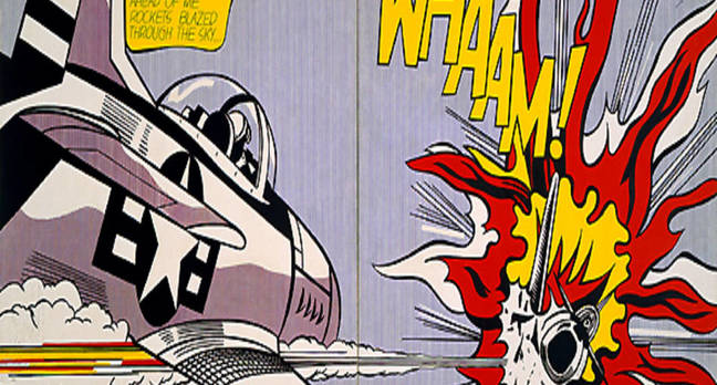 wham_bang by Roy Lichtenstein