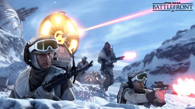 Star Wars: Battlefront walker assault hoth. Electronic Arts