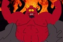 Satan in Hell from South Park