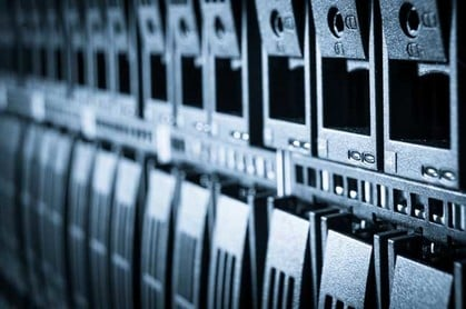 Array in a rack. Image via Shutterstock