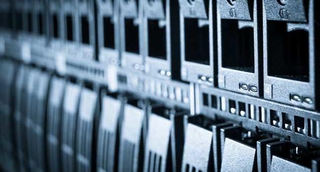 Array in a rack. Image via Shutterstock
